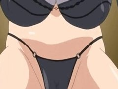 Sexy Hentai Teenie Facial Cumshot