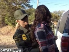 Lesbian cops punish and hot cop and fake taxi uk police officer and male