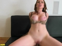 Milf with big tits Jessica Rayne takes a cock at her office