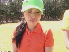 Women's Golf: Loser Gets Fucked (Uncensored JAV)