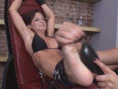 Tickle Busty Girl