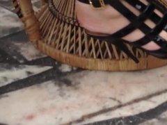 very sexy black heels