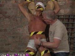 Gay male bondage s and grandpa old molesting twink bondage boy porn and