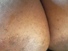 Cum On Big Boobs In Car