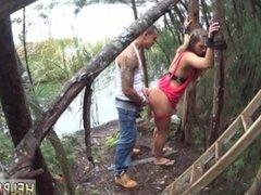 Big tits rough anal gangbang and extreme interracial orgasm and lesbian