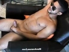 Big Dick shows off his meat in the car!