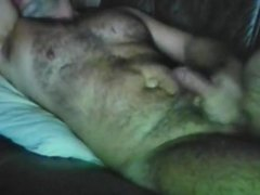 Show hairy muscle cum
