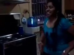 Tamil girl dancing n showing her beautiful body with sweet words to her bf