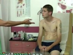 Naughty gay doctor cartoons and medical examination of young naturist
