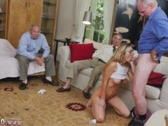 Amateur brunette old man and old couple and old ebony milf and big ass to