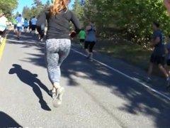 Amazing runner ass