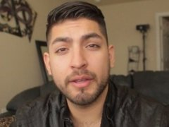 Don Stone Hot Sexy Latino Webcam Model Intro In Leather Jacket