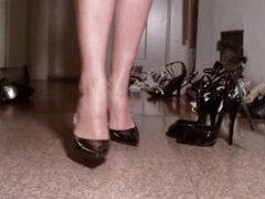 sexy shoe colection and show