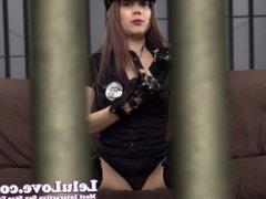 Lelu Love-Officer Lelu Chastity Cage Denial