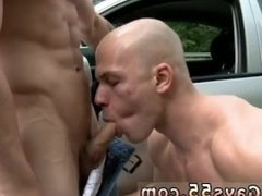 Old men having sex in public restroom and young gay men fucking in public