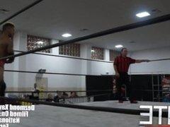 Pro wrestler Lio Rush finishes hot boy Dezmond Xavier