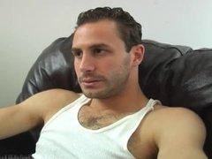 Hairy Italian Stud Tony Gets Blown