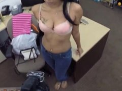 Latina babe anal fucked and big tit blonde joi with countdown and