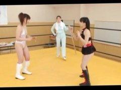 Nude Japanese Oil Wrestling part 1