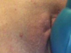 Toying my pussy while bored.