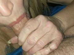 Hubby is getting some head