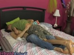 Sissy taught how to give a blowjob porn movies and gay orgy moaning porn