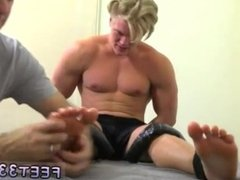 Teen feet fuck gay video and show me gay hairy legs and hard body and gay