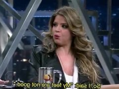 (English Subtitles) Mariana Santos and Her Experience in a Foot Party