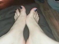 Cum on Feet Pt. 12