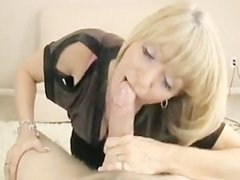 Friends hot mom caught me masturbating