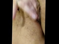 BBW Nicki playing with her pussy homemade amateur wife