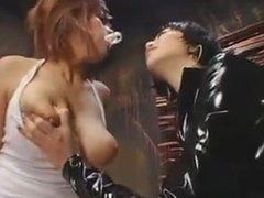 Lezdom Nipple-play 2