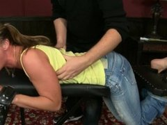 Sandra Tied and Tickled 23