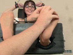 Sandra Tied and Tickled 24