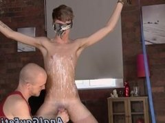 Gay bondage slave orgasm and male actors in bondage porn and exotic gay