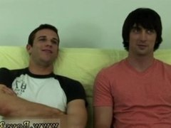 Straight guy having sex with teacher and two straight boys experimenting