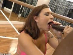 Eva Angelina Taking On A Big Cock