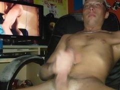 Hot cumshot after jerk