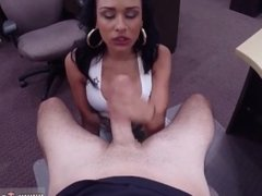 Big boob Latina is a mega-slut for some cash