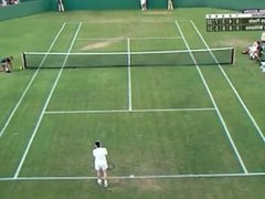 Sex on the tennis court