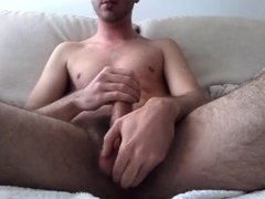 Solo Male Edging - sensual dick rub and intense cumshot