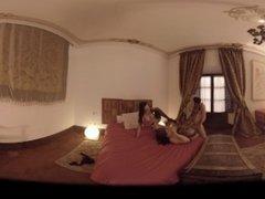 VR Porn The Spanish Threesome: Big Titsjob  Virtual Porn 360