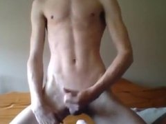Danish Young Blond Gay Boy Elgyn Playing With Myself In Sexy Solo Show 7