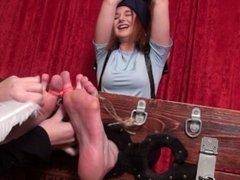 Jill Valentine Tickled!