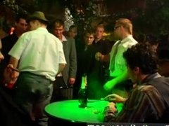 Group of men hold down and wank boy tube and hen party male strippers