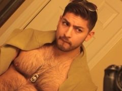Don Stone In Sexy Hot Outfit Hairy Chest In Jeans Masturbating To Porn 7