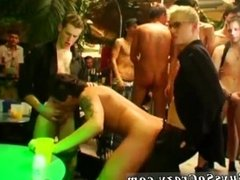 Anal gay group and men having group sex with men and a group of college