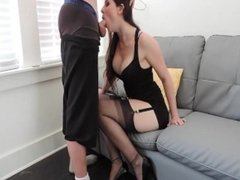 HOT STEP SISTER FUCKED STEP BRO!