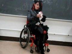 A.j.bray wheelchair teacher