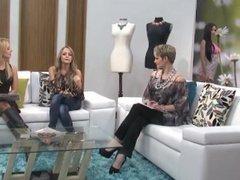 Luciana tbfttl model modeling on a show